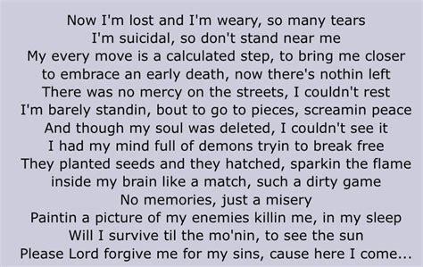 shed so many tears tupac lyrics