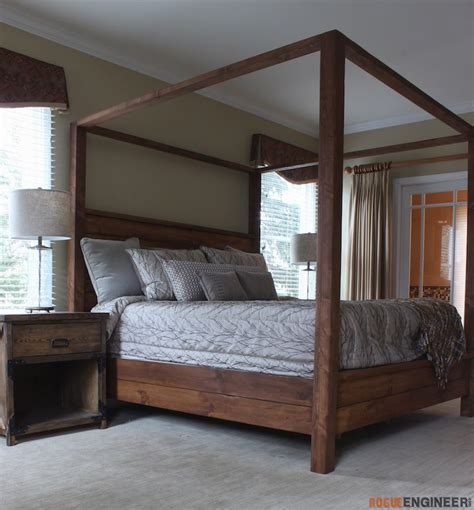Canopy Bed  King Size » Rogue Engineer