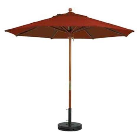 grosfillex 98948231 7 ft terra cotta market umbrella etundra