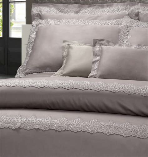 Dea Luxury Italian Lace Bedding  Aiko Luxury Linens