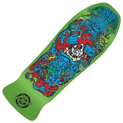 santa skateboards rob roskopp target 5 green reissue