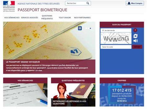 suivre demande de passeport en ligne application