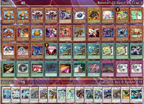 yusei 2 deck by aj456 on deviantart