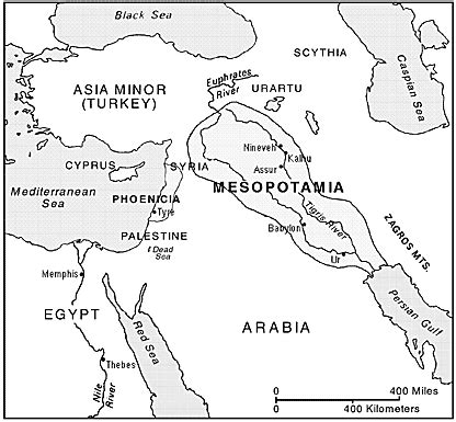Physical Map Of Fertile Crescent  Google Search