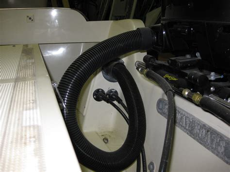 Boat Rigging Tubes by Is There A Better Way Rigging Tube Hydraulic Hoses Thru
