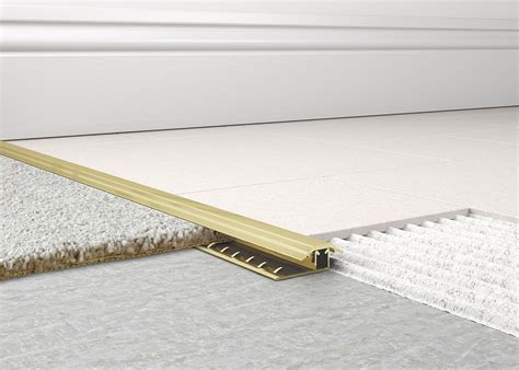 metal carpet to tile trim 2 tileasy