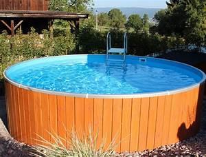 Stahlwandpool In Erde Einlassen : stahl pool mit holz verkleiden wohn design ~ Markanthonyermac.com Haus und Dekorationen
