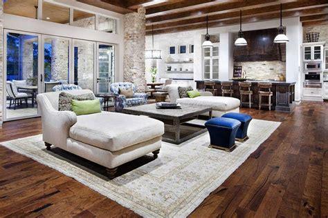Open Concept Kitchen Living Room Floor Plan And Design