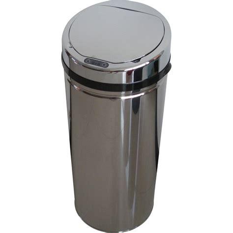 poubelle de cuisine automatique selekta plastique inox 42 l leroy merlin