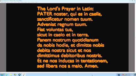 linguistic studies with davidmueller666 episode 3 the lord s prayer in