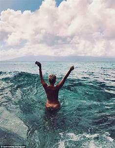 Natasha Oakley nude as she takes a swim in Maui | Daily ...