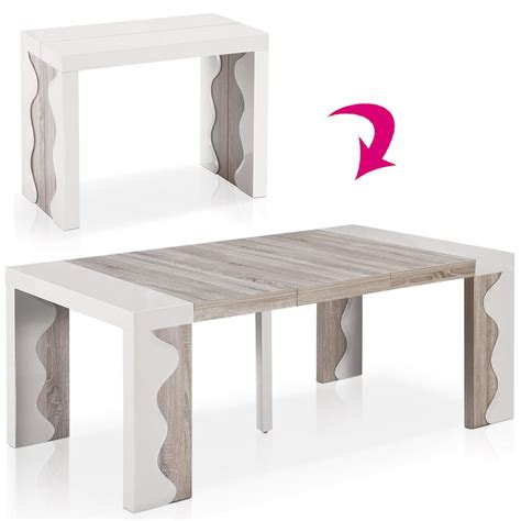 table ronde extensible 10 personnes