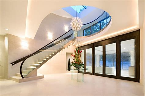 Modern Homes Interior Stairs