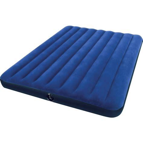 airbed air mattress portable cing up bed intex size ebay