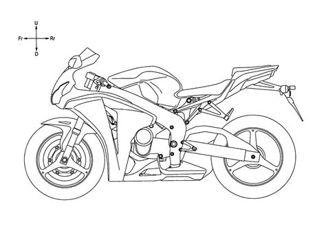 Harley Davidson Drawing Templates
