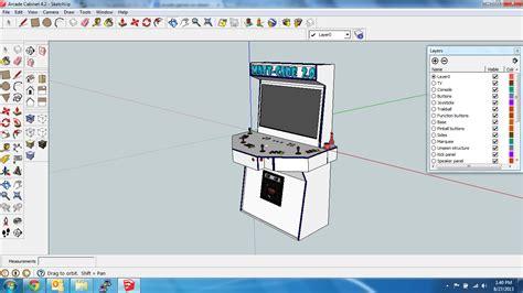 building the 7e arcade hd prototype mame cabinet part 1 sector 7e