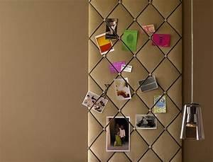 Wandverkleidung Mit Stoff : diy projekt pinnwand mit samtstoff bild 6 sch ner wohnen ~ Markanthonyermac.com Haus und Dekorationen