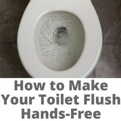 kohler make your toilet flush free