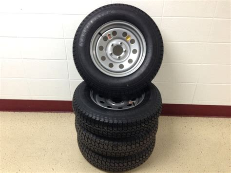Boat Trailer Tire And Rim Combo by Gator Made Trailer Parts 4 205 7515 Trailer Tire And