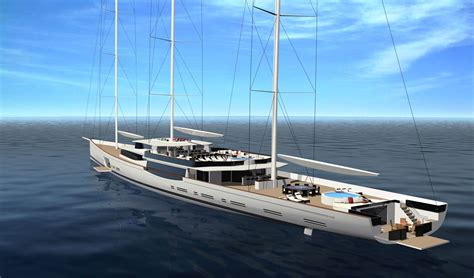 Huge Catamaran Yacht by Luxury Sailboats 100m Mega Sailing Yacht By Design