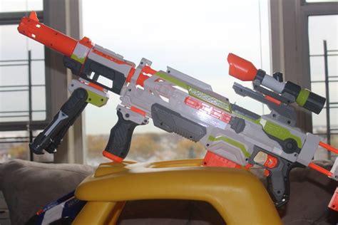 nerf modulus range upgrade kit review nerf gun attachments