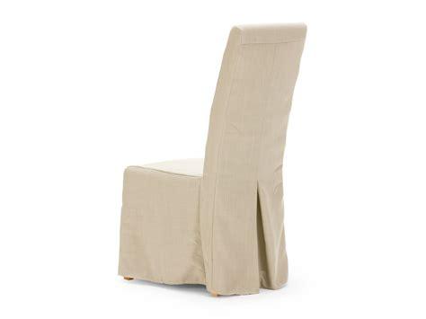 housse de chaise en tissu beige pour chaise montreal massivum