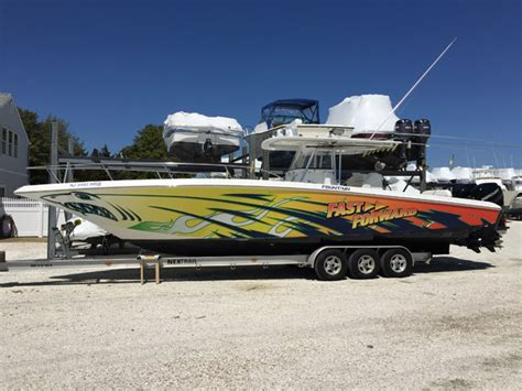 Used Fountain Boats by 2004 Used Fountain Te Center Console Fishing Boat For Sale