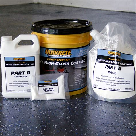 quikrete garage floor epoxy endearing how to paint an