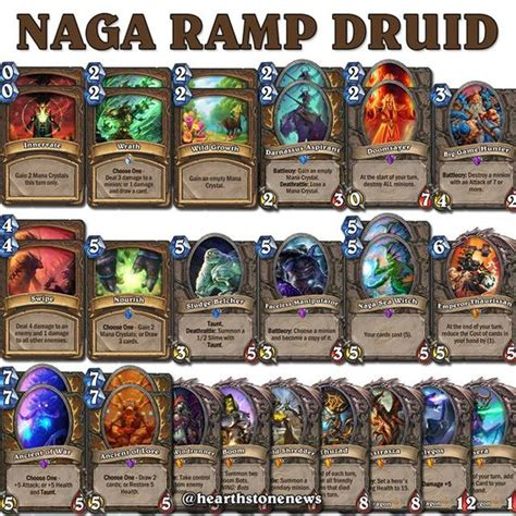hearthstone naga r druid s21 hearthstone news