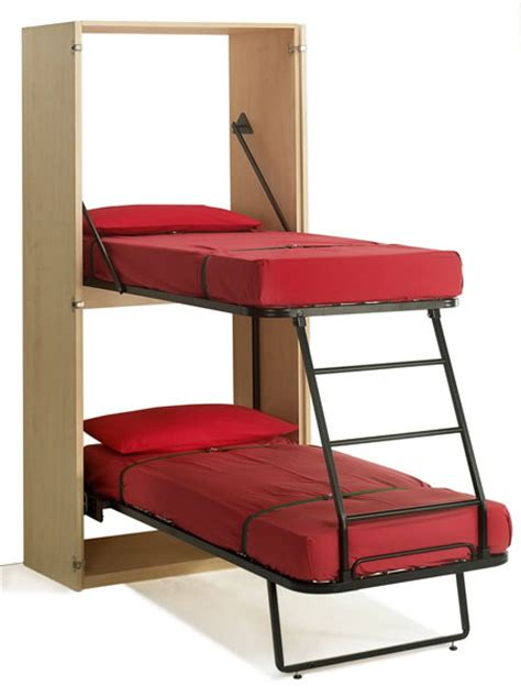 Futon Bunk Bed Walmart by 10 Cool Murphy Beds For Decorating Smaller Rooms