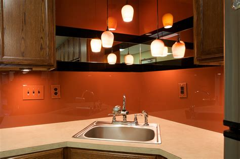 Dreamwalls Color Glass Is The Ideal Backsplash For Breakrooms Dark Gray Shower Curtain Yellow And Brown Wooden Outdoor Red Curtains Ex Long Art Deco Claw Foot Tub