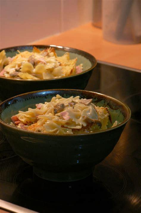 gratin de p 226 tes au jambon et chignons sweet recipes