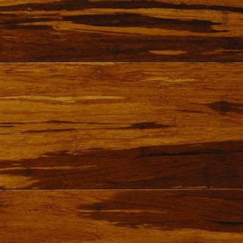 take home sle strand woven honey tigerstripe click lock bamboo flooring 5 in x 7 in lh