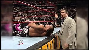 "DIRECTV - WWE The legendary ""Montreal Screwjob"" - YouTube"