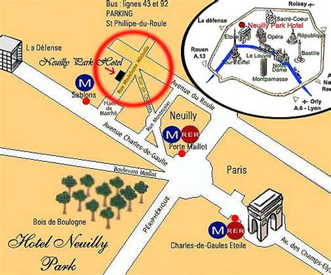 hotel neuilly park near the arch of triumph and the exhibition centres palais des congr 232 s