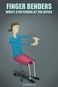 Office chair leg stretchers | Sit on the edge of the chair ...