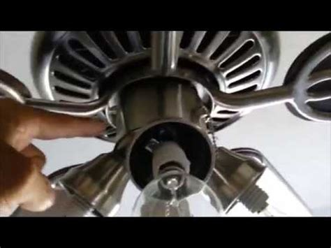 Ceiling Fan Light Flickers Then Turns by How To Fix A Flickering Or Blinking Ceiling Fan Light