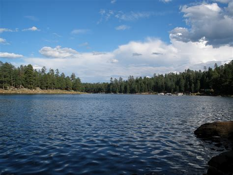 Canyon Lake Az Fishing Boat Rentals by Arizona S Rim Lakes Sitgreaves National Forest Truck