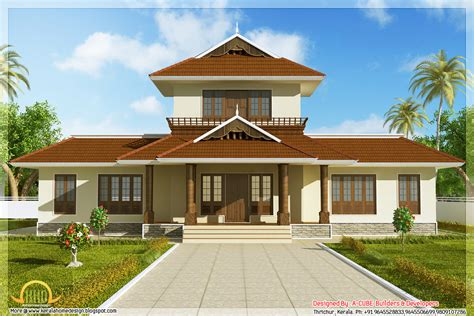 Awesome 3 Bhk Kerala Home Elevation  1947 Sqft Kerala