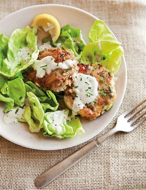 crab cake salad crab cake butter lettuce salad williams sonoma taste