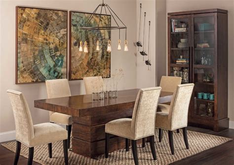 rustic modern tahoe dining table eclectic dining