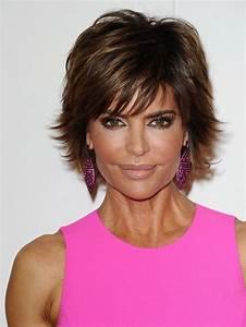 More Pics of Lisa Rinna Layered Razor Cut | Lisa rinna ...