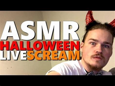 Asmr  Halloween Livescream! Youtube