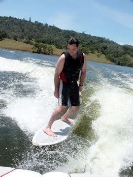 Board Behind Boat by Wakesurfing Wikipedia