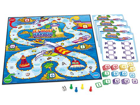 Jet Boat Games by Jet Boat Harbor Short Vowels Game At Lakeshore Learning