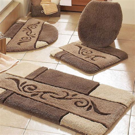 l shaped bathroom rug creative rugs decoration