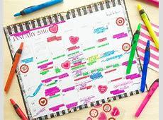 Keep A Family Calendar Organization Pinterest