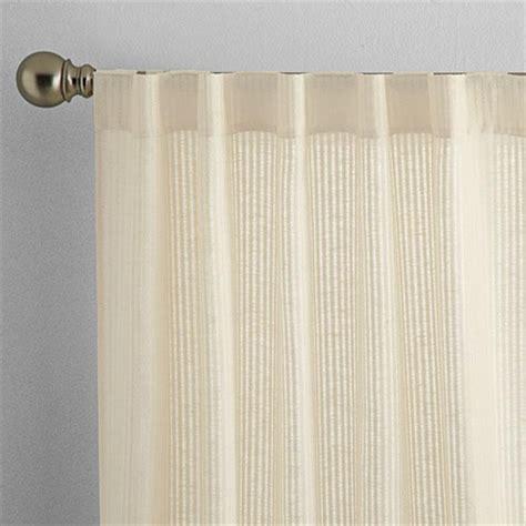 whole home 174 md linen look semi sheer rod pocket panels