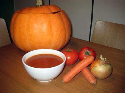 soupe au potiron aux oignons