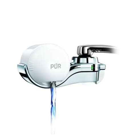 pur advanced plus faucet water filter in white fm9600bv1